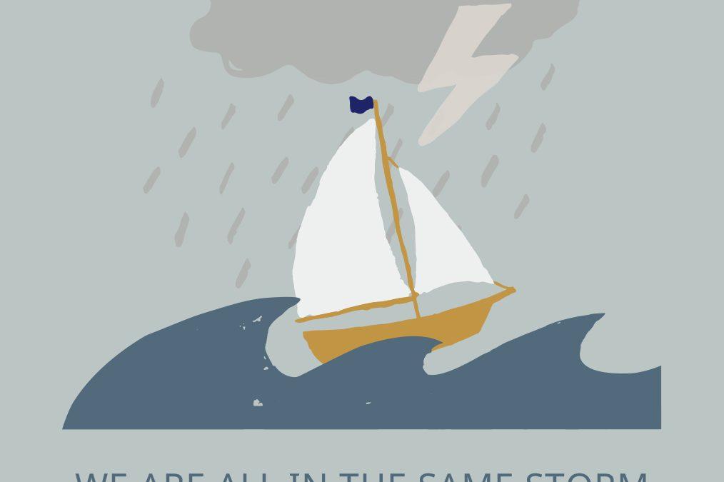 Same storm, not same boat