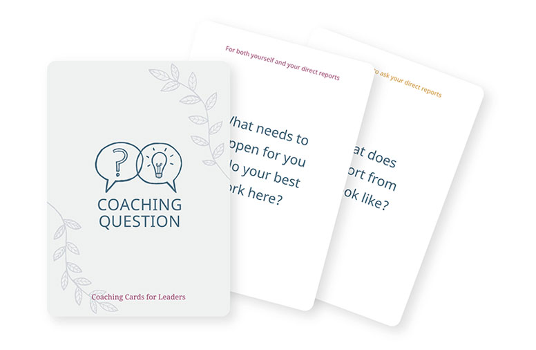 Coaching Questions cards