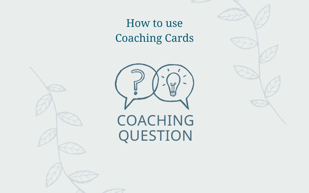 How to use coaching cards